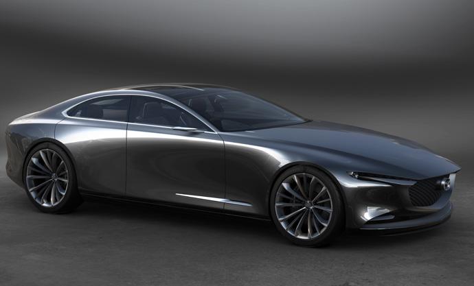 Mazda Vision Coupe - Framtidens design.
