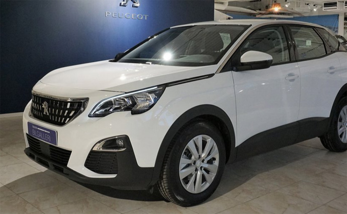 Peugeot 3008 SUV privatleasing