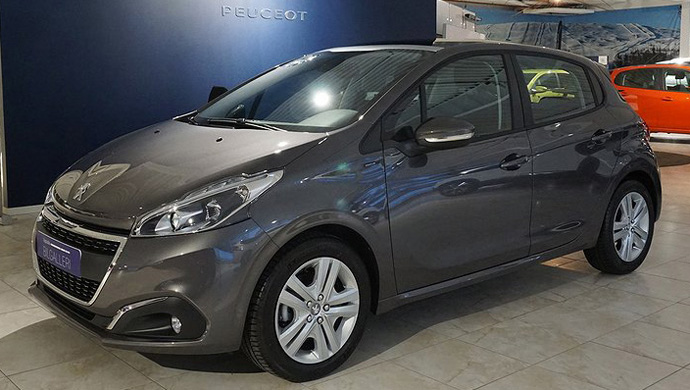 Peugeot 208 kampanj