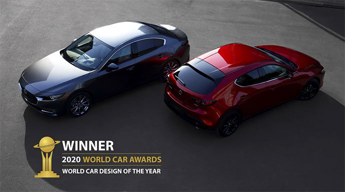 Mazda3 - vinnare World Car Awards