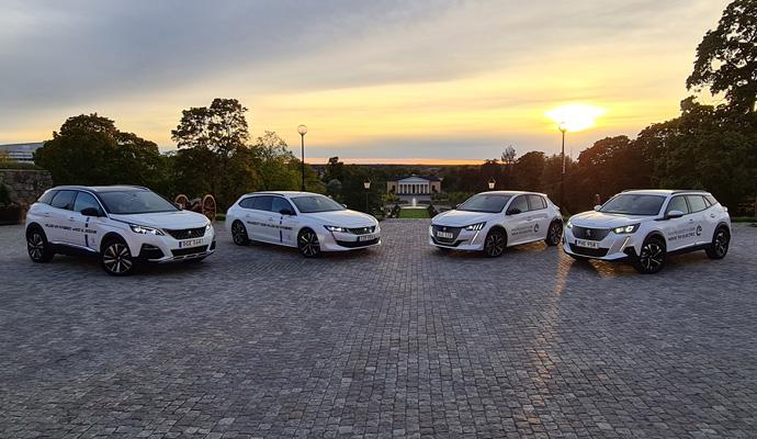 Peugeot elbil och plug-in hybrid