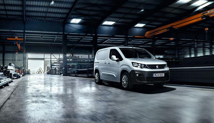 Peugeot transportbil kampanj