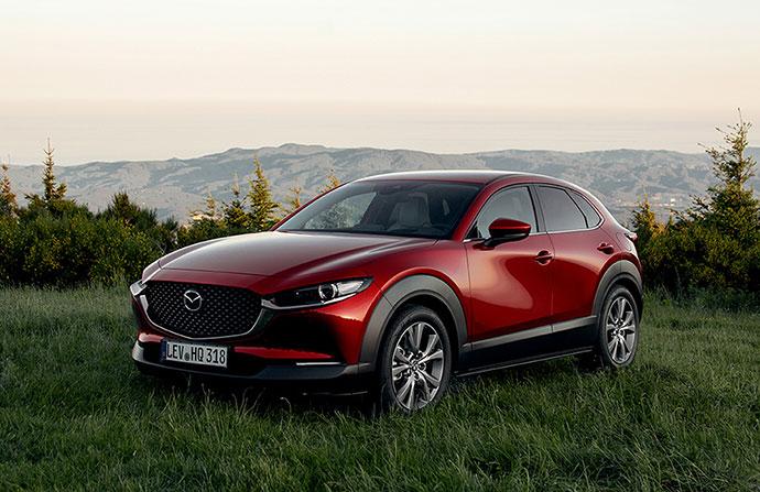 Mazda CX-30 - finns som privatleasing