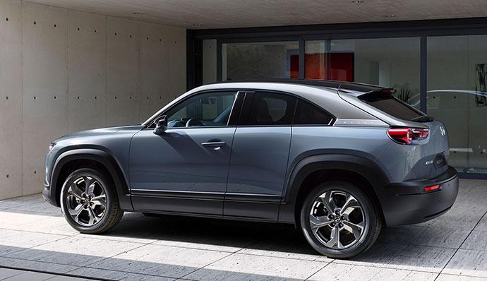 Mazda MX-30 elbil kampanj